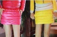 Down cotton culottes basic shorts feather skirt mini length, basic thickening bust skirt  6 colors available , free shipping