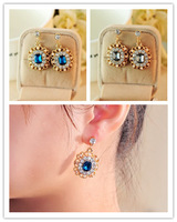 Min.order is $10 (mix order) Free Shipping women fashion lot of  stud earrings bridal  rhinestone  Earring Jackets