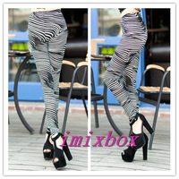 Free Shipping 2013 New Arrival Fashion Woman All-Match chatter marks leggings High Elastic Ankle Length leggings W3292