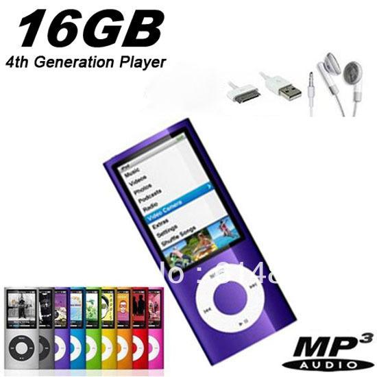 MP3-плеер Unbrand 1 x , 16 16 G 1.8 LCD 4 4Gen Mp4 fm/& 16GB Mp4-C-Z наушники k pop bigbang gd g mp3 mp4 x 032