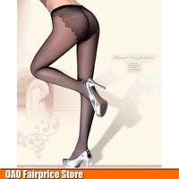 Thin stockings black stockings bikini pantyhose stockings Butterfly Seamless crotch pantyhose Free shipping