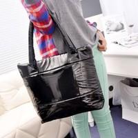Free shipping  fashion Cotton handbag Ladies Space Bale winter bags for women shoulder bag