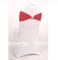 Top selling Spandex Chair Sash Lycra sash With Buckle For Wedding