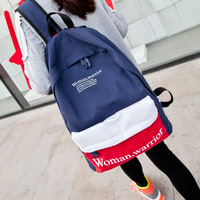 Free shipping handbag 2013 canvas backpack middle school students school bag preppy style backpack travel bag wholesale