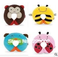 new 2014 Cartoon animal u pillow neck pillow cervical health care pillow cartoon u nap pillow free shipping