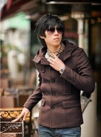 Men's Coat Fashion Clothes Winter Overcoat Outwear Wind Coat Free Shipping Wholesale MWF019