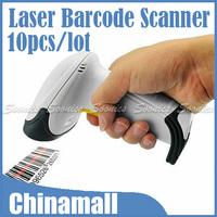 Hot Sale USB Wired Handheld Hand Held Laser Scan Barcode Scanner Reader POS Gun Free Express 10pcs/lot