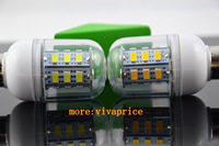 10pcs/lot 220V E14 5730 24LEDs Corn Bulbs or Lamps 5730 SMD 3.5W Warm White/White Home Lighting reading lights for beds
