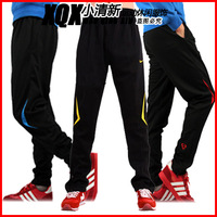 Sports running pants wholesale men women football Slim casual jogging pants track cycling fitness training pants zipper leg