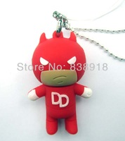 Carton Daredevil  4GB 8GB 16GB 32GB genuine  USB 2.0 Flash Memory Stick Pen Drive Thumbdrive U-disk Card  Mobile Storage Devices