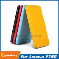 High Quality NILLKIN Fresh Series Flip Case For Lenovo P780