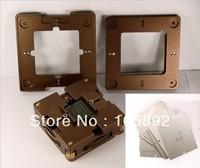Freeshipping NEW Multifunction Aluminum alloy BGA Reballing Station BGA Reball Kit+ 10/pcs 90*90mm BGA Universal Stencils