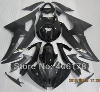Free shipping,Cheap Yzf600 R6 08 09 10 11 12 13 Body kit for Yamaha Yzf R6 2008-2013 Race Bike Black Fairing (Injection molding)