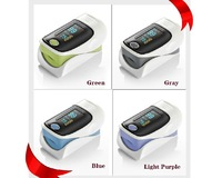 Home Healthcare Equipment 4 Colors OLED Display Fingertip Pulse Oximeter SPO2 PR Monitor CE/FDA Free Shipping