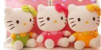 free shipping,30cm hello kitty  doll , hello kitty Stuffed & Plush ,hello kitty  rag doll wholesale