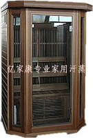 Double hexagonal household carbon fiber light room far infrared energy house sauna room