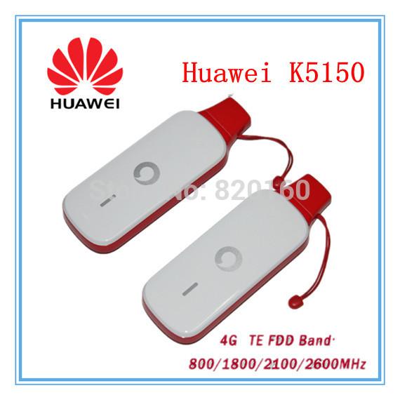 Unlock LTE FDD 150Mbps HUAWEI K5150 4G LTE USB Stick And 4G Modem(China (Mainland))