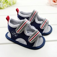 CL0655 Free Shipping Baby Sandal Boy's Sandal Shoes Casual Shoes Baby Pram Shoes First Walker Prewalker Shoes 11cm 12cm 13cm