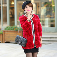 2013 beads rex rabbit hair fur short design fur female new arrival