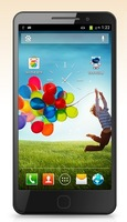 I9500 S4 1:1 Support air gestures 1GRAM 4GBROM MTK6577 Mobile phone 5.0-inch Dual core 1.2GB 3G android smartphones