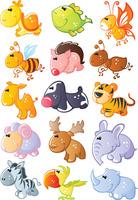 Diy heat fabric heat transfer heat transfer printing painting handmade patchwork - animal cartoon 8