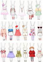 Diy heat fabric heat transfer heat transfer printing painting handmade patchwork - fashion rabbit 3
