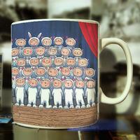 Meters cartoons mug coffee cup printing logo