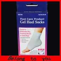 Min order section (must >=15 usd) New product Gel Heel Socks/ Moisturizes Cracked dry Heels Soft socks/Foot Care socks for feet