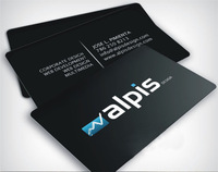 Full Colour Plastic PVC Business Cards to  Both Sides Printed, 0.38mm Thickness, Top quality, Best Price+free shipping