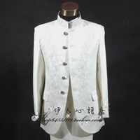 Suit male chinese tunic suit set