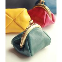 Wax cowhide genuine leather coin purse coin purse fashion nostalgic vintage women's mini coin purse small change