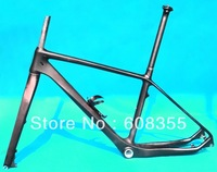 FR223  Full Carbon UD Matt MTB Mountain Bike Frame ( BB30)   + Fork + Seatpost + Water Bottle Cage  18""