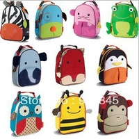 Free Shipping Children Zoo Lunch Bags Multi-function Cooler Bags Meal Package Portable Insulated Food Lunch Bags For Kids