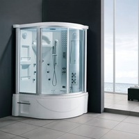 Acrylic shower steam one piece computer steam room
