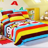 Hippo1 bed sheets blanket single double winter plus velvet bed sheets separate flannel blanket maotan