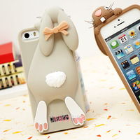 Cute 3D Milan Moschinoe Bunny Rabbit Silicon Case Cover For iPhone 5 5s 5g for iphone5 for iphone5s