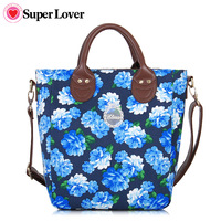 Super lover women's handbag print small fresh bags shoulder bag messenger bag 188