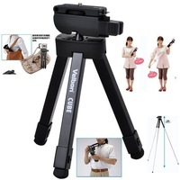 newFree Shipping!Velbon CUBE - 8 Section Compact Folding Travel Tripod For DSLR / Compact Camera