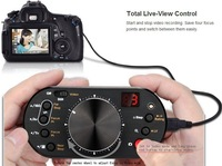 newFree Shipping!!Aputure V-Control USB Camera Focus Controller Exposure Control Mode-switching Live View For Canon