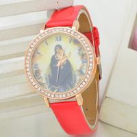 New 2013 Christmas Series - Fashion Geneva Diamond Watch Women Dress Watch Cartoon Jelly Quartz Watches 1pcs/lot