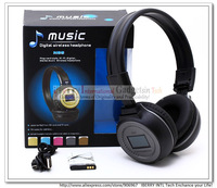 Sports Media Player Insert Card MP3 Audio Player FM Wireless Hifi Headphones