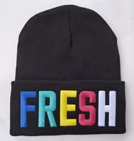 4Colors! Fresh, Sorry I'm fresh  Beanie hat ,wool winter knitted caps and hats for man and women+free shipping