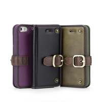 100% soft Leather surface Classical style handicraft art Dir-resistant Flip Case Cover For Apple iPhone 5/5G/5S
