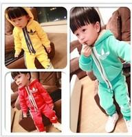 kids child boy clothes set new arrival 2013 baby suits for boys velvet sport suit children cheap baby clothes sale