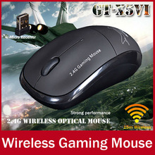 GT-X5 Original Brand 2.4G Wireless Bluetooth Optical Mouse 3 Buttons 2400 DPI Ultra Slim Gaming Mice For PC Computer Gamer