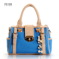 Women's bags 2012 women's handbag bear hangings fashion candy handbag