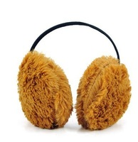 FreeShippment Soft plush earmuffs diameter about 10cm four colour Shippment Colour RAMDION
