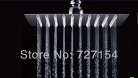 Free Shipping 8 inch perfect new square bathroom stainless steel rain shower head