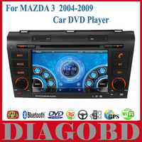 Android GPS for MAZDA 3 2004-2009 Car DVD Player with 3G GPS RDS radio bluetooth WIFI For mazda3 gps