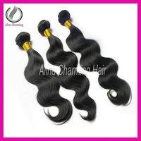 Free shipping!Natural unprocessed Beauty queen love hair brazilian body wave virgin human hair weaves wavy deals 3 or 4 bundles